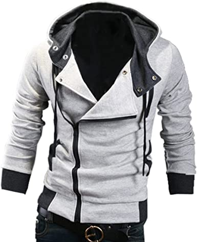 Assassins Creed 3 Desmond Miles Sudadera con Capucha Disfraz Top ...