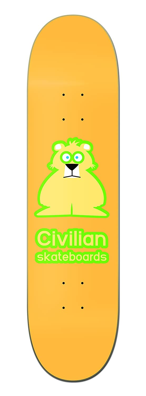 Dropship 1DECVB285 CIVILIAN SKATEBOARDS Wildlife Series Bear2 Skateboard Deck 8.5 Made in California Switchboard
