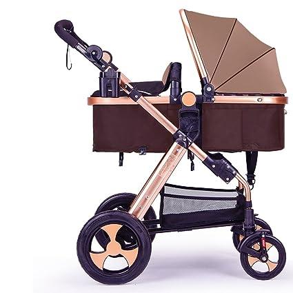 Carrito de bebé recién nacido, carro de bebé, cochecito de bebé de alto perfil