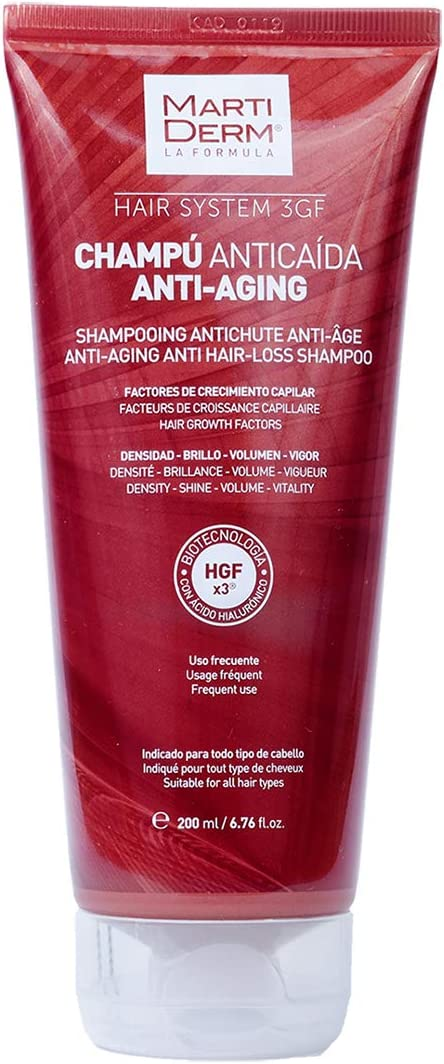 MARTIDERM HAIR S 3GF CHAMP ANTIAGI 200ML