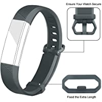 Iloft® Silicone Band for Fitbit Alta HR and Alta (Classic) (Strap Only. Tracker Not Included)