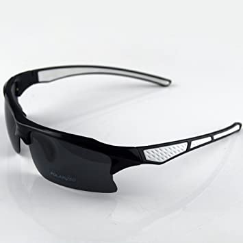 56c6d4175ef9 Buy Excellent Unbreakable Polarized UV400 Cycling Wrap Running Outdoor  Sports Sunglasses Men Women Multi Sport Glasses Smoked Lens Online at Low  Prices in ...