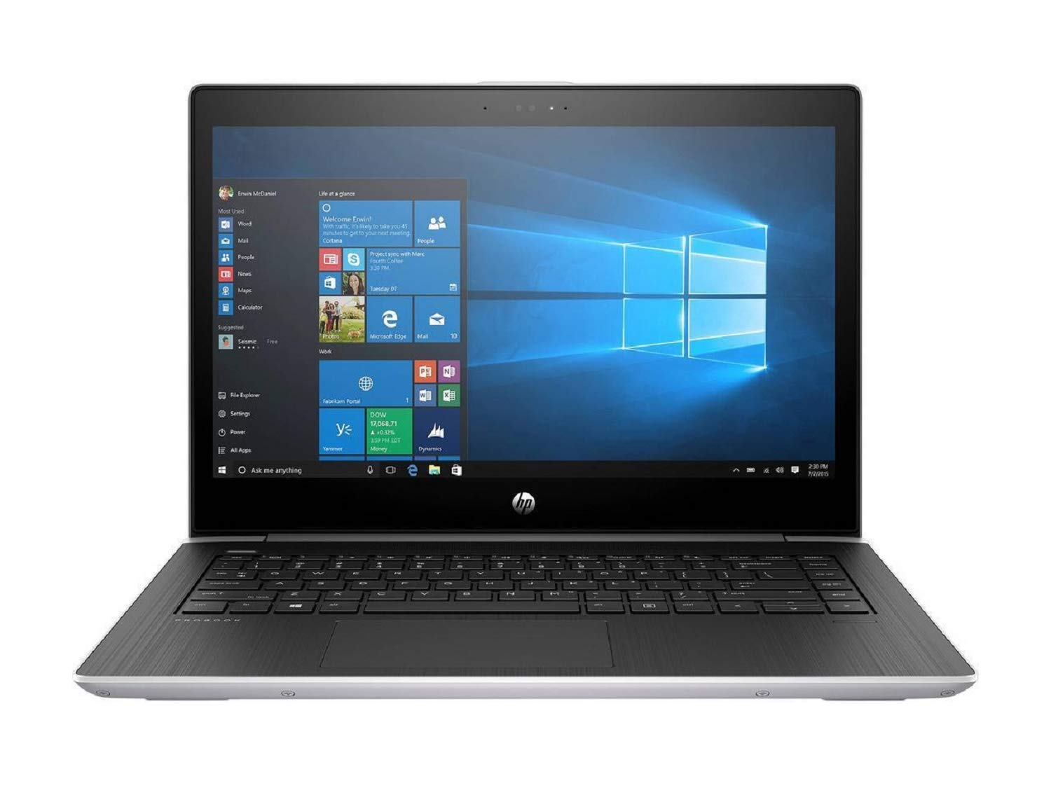 【国際ブランド】 HP HD ProBook 4-core, 440 G5 Premium School and Business Laptop Pro) PC (Intel 8th Gen i5-8250U 4-core, 8GB RAM, 500GB HDD + 128GB Sata SSD, 14