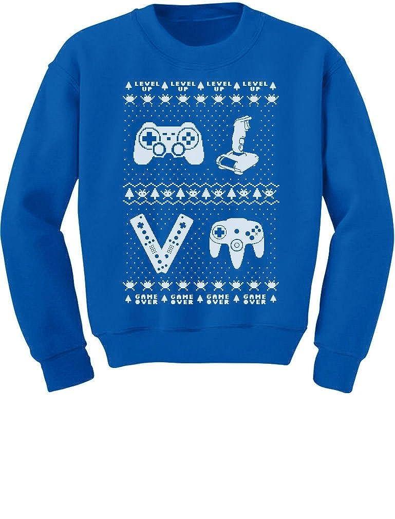 TeeStars - Gamer Ugly Christmas Sweater Holiday Xmas Toddler/Kids Sweatshirt GMPlMPlgf5