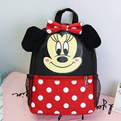 Jewh Disney Mickey Mouse Backpack Children Girls School Bag Cute Kids Boy Backpacks New Polyester Cartoon