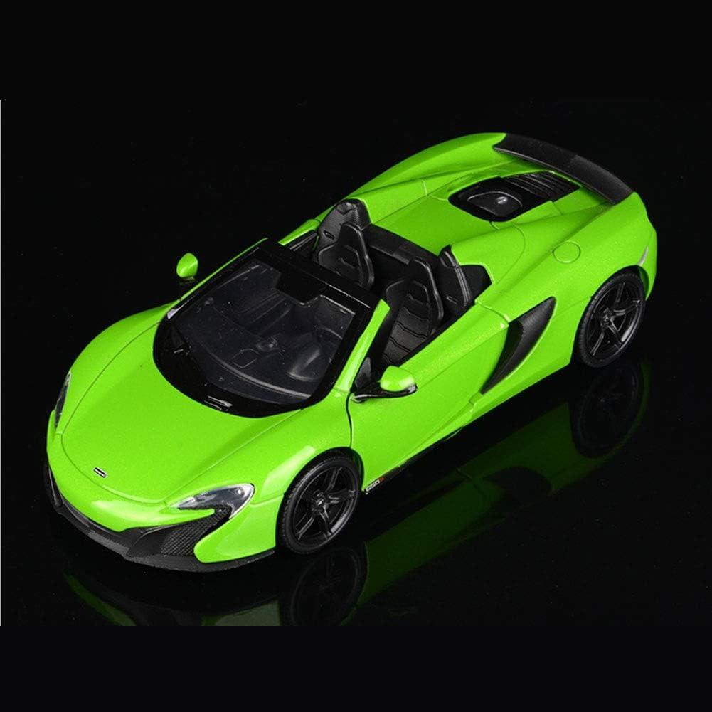 del Ministerio del Interior Decoraci/ón LLZYZJ Modelo de Coches de Juguete Color : Green 1: 24 P1 650S Simulaci/ón de aleaci/ón Modelo de Coche
