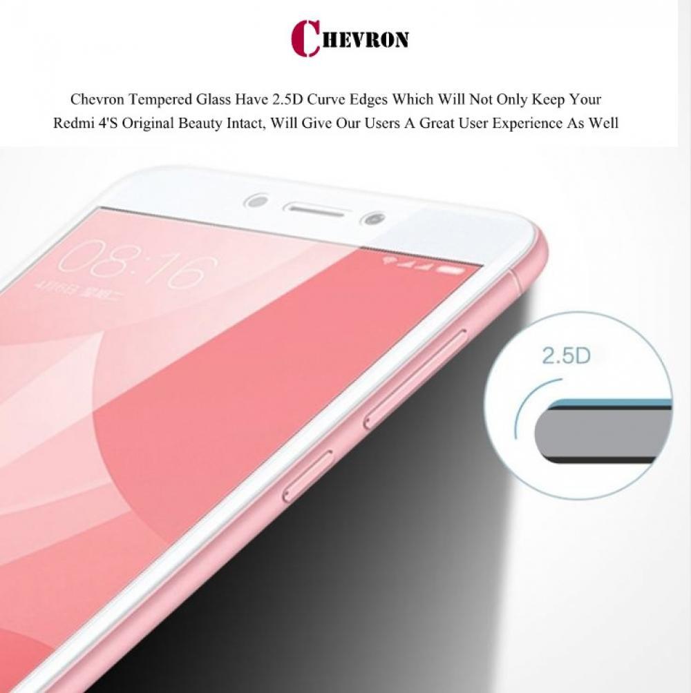 Chevron Full Body Tempered Glass Sapphire Black For Xiaomi Smile Redmi4x Clear Xiaomismartphonesandroid Redmi 4 Electronics
