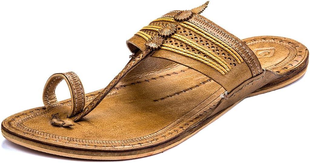 Handmade Leather Sandal USA size 10 Buffalo Leather