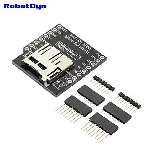 robotdyn - Micro tarjeta SD Shield para wemos D1 Mini, con ...