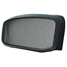Paramount Restyling 44-0812 Packaged Grille with Chrome Black Steel 2.0 mm Wire Mesh