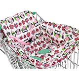 Pawaca 2-in-1 Shopping Cart Cover with Safety Harness...