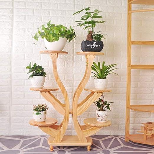 QYJpB Chino simple de madera maciza de múltiples capas de la flor ...