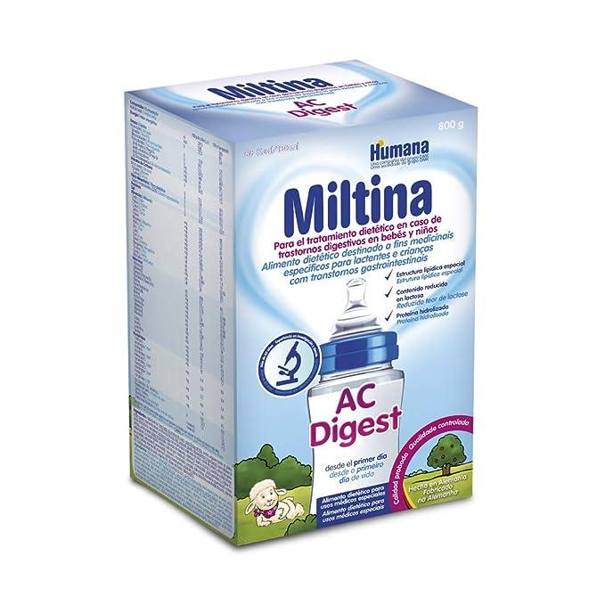 MILTINA AC/DIGEST, leche especial en caso de Cólicos, 800g