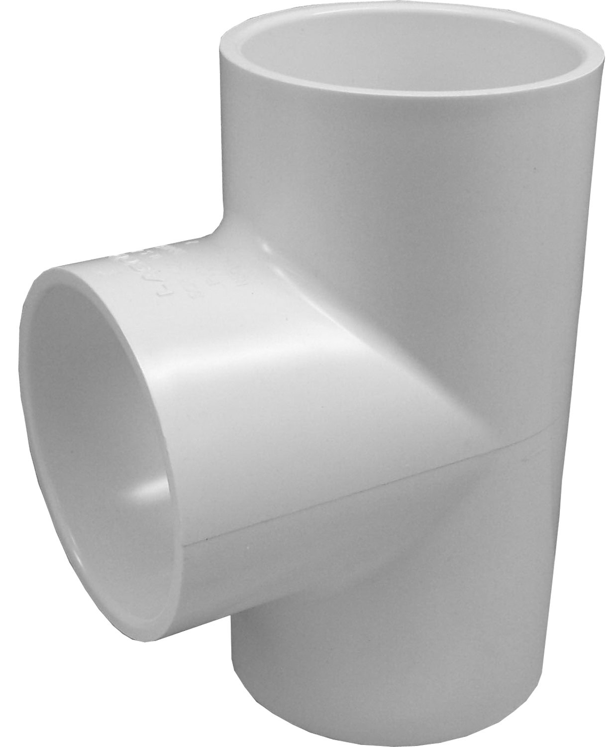 Genova Products 31410CP 1-Inch PVC Pipe Tee - 10 Pack