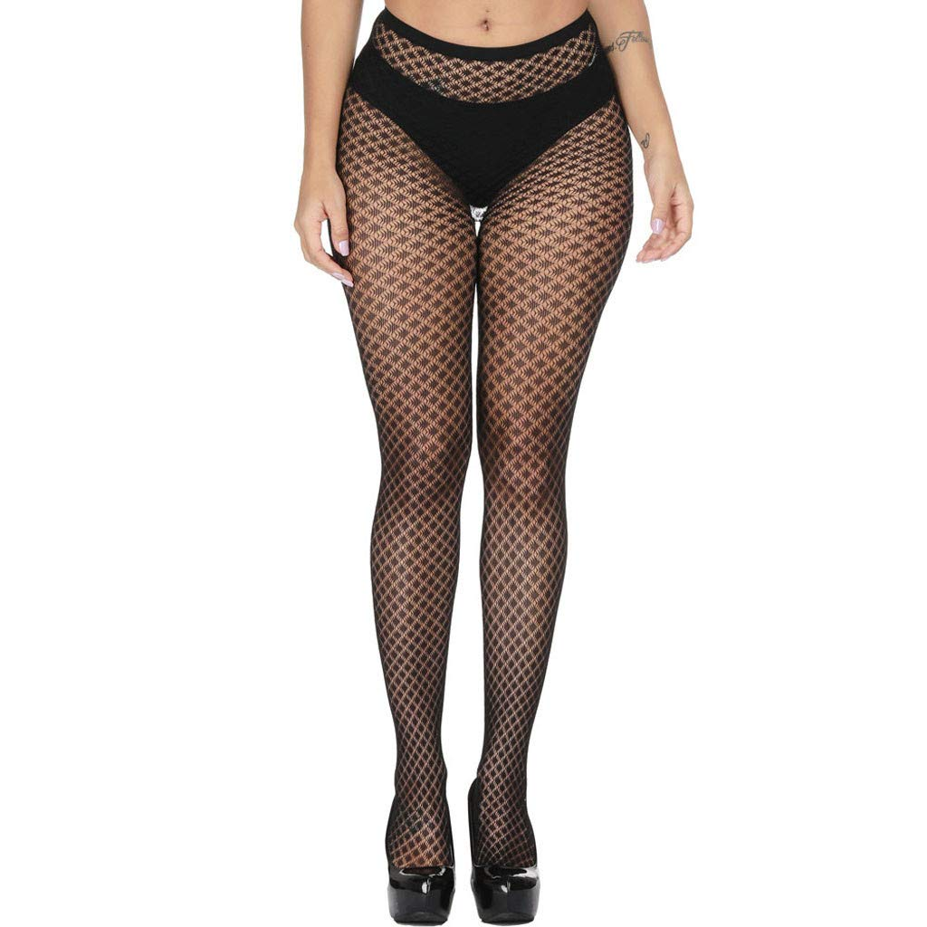 HHmei Italian Style Single Charms, Women's Sexy Fishnet Soft Tights Lingerie Transparent Erotic Lace Bodysuit/Sexy Set Briefs Bikini Thong Seamless Shorts Plus Tummy high Cotton Pack Size Under