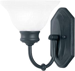 Kenroy Home 10501ORB Winterton 1-Light Vanity Light, Oil Rubbed Bronze