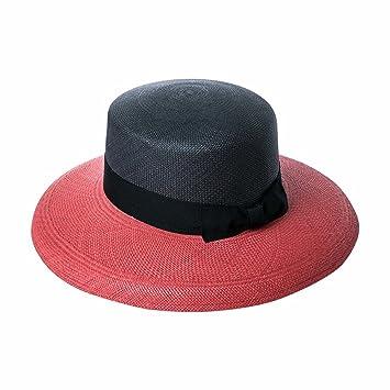 7af69cfb99b QFFL xiajibaidamaozi Hat Hand Hit Color Sun Hat Take A Straw Hat Top Hat  Wild Beach