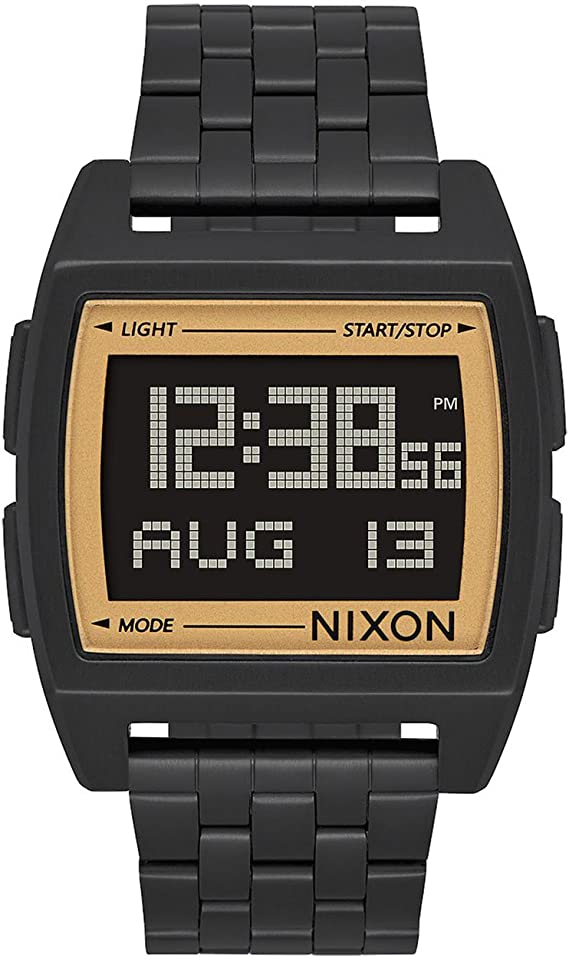 RELOJ NIXON BASE ALL NEGRO/DORADO