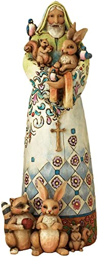 Enesco Jim Shore Heartwood Creek from St. Francis Figurine 11 in