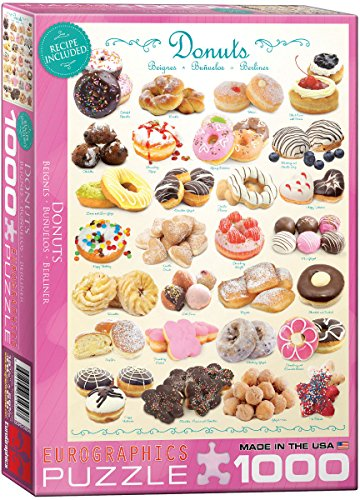 1000 piece puzzles donuts - 5