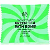 The Body Shop Green Tea Bath Bomb, Fizzing Bubble Bath, 28g