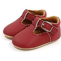Zapatos de Bebé Niña para 0-18 Meses, Zapatillas de Niña Princesa con Suave Suela Antideslizantes, Zapatos Primeros…