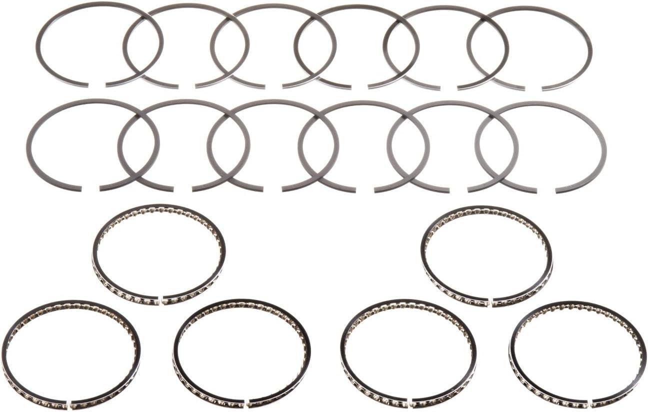 Hastings 2C4450040 6-Cylinder Piston Ring Set