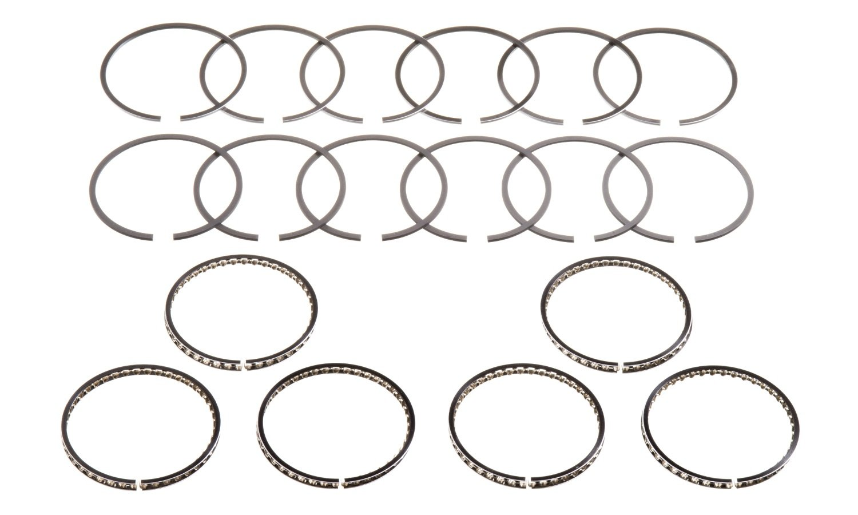 Hastings 2C4711020 6-Cylinder Piston Ring Set