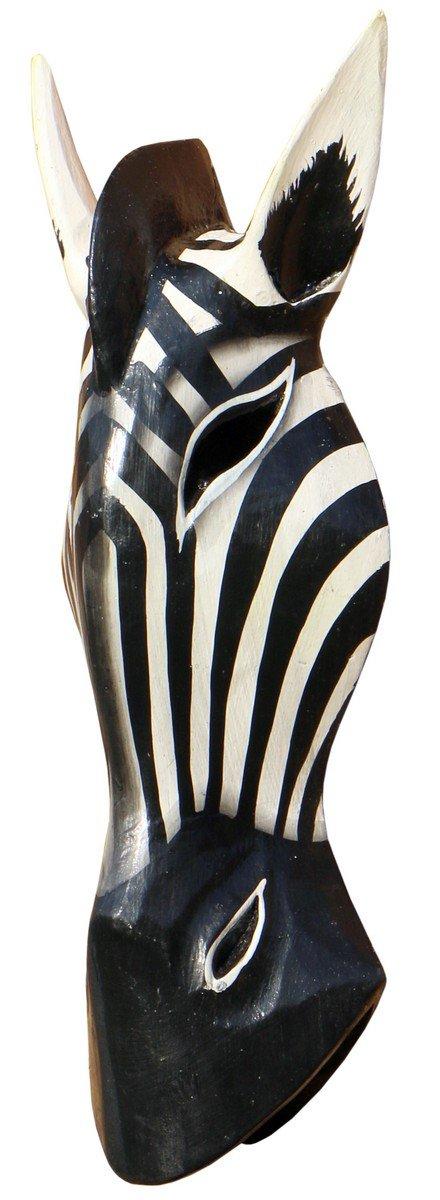 Bonito 30/cm Zebra Madera M/áscara /África pared M/áscara mano Bali maske71