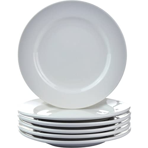"""Argon Tableware Wide Rimmed Side Plates - 16.5cm (6.5"""") - Box of 6"""