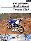 CPP-185-P Yamaha YZ85 Printed Motorcycle Service Manual Cyclepedia