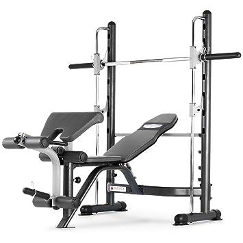 Marcy TSA 5762 Half Smith Machine And Weight Bench