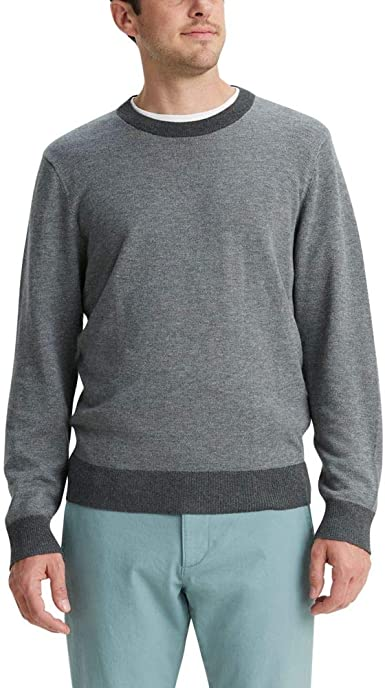 Dockers Long Sleeve Crewneck Sweater Camisa Henley para Hombre