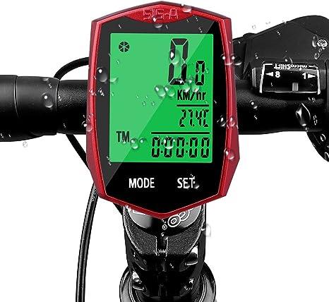 Cuentakilómetros, Aodoor Impermeable Pantalla LCD Ordenador ...