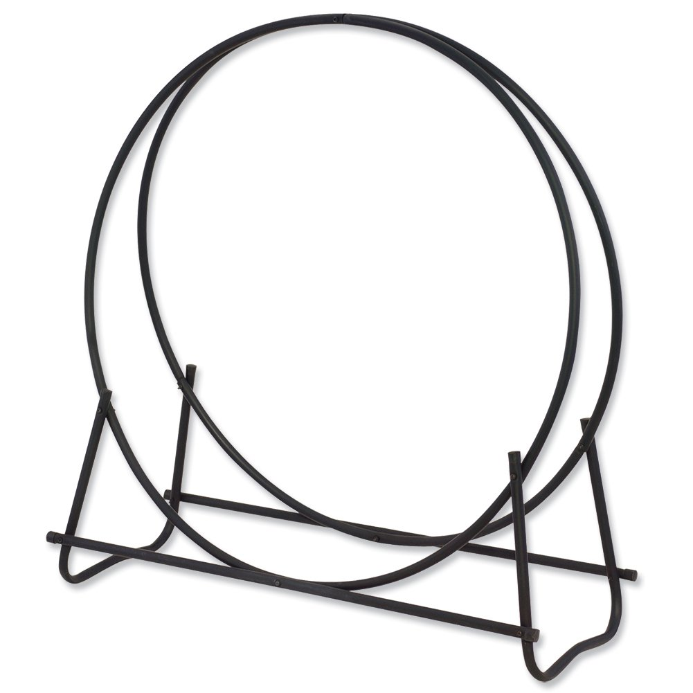 Uniflame, W-1889, Black Finish 48 in. Diameter Tubular Log Hoop by Uniflame