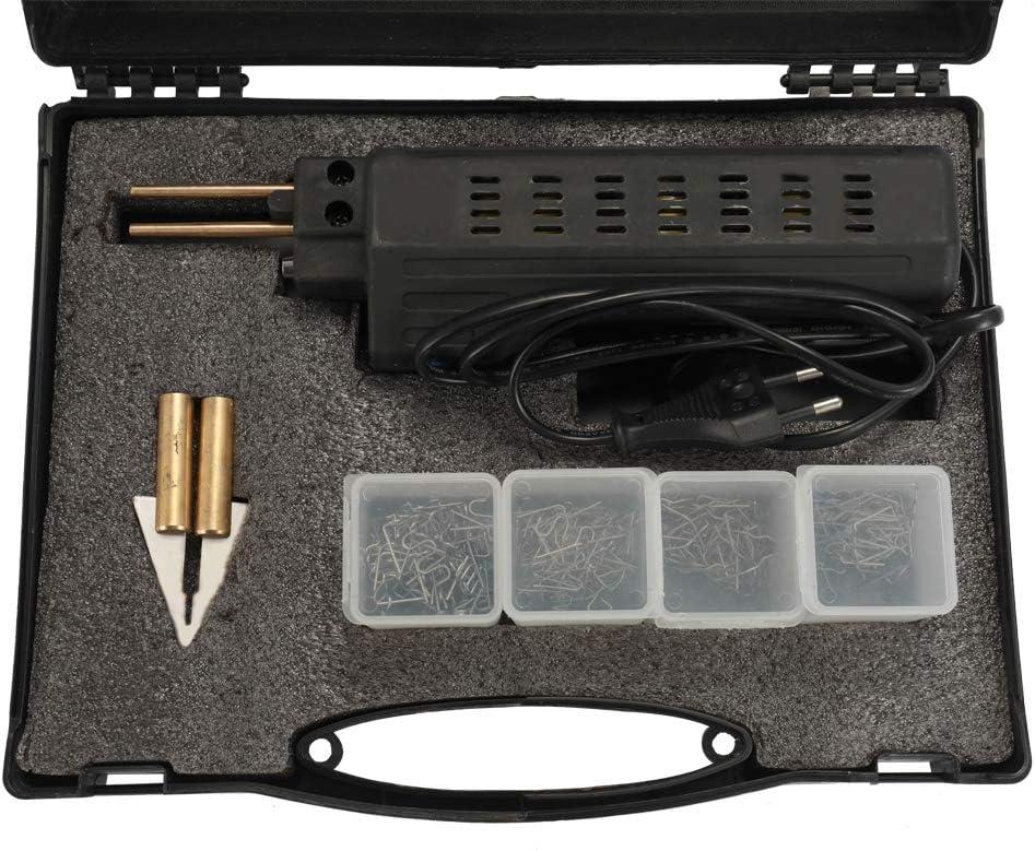 Gecheer 50W Soldador Pl/ástico para Reparaci/ón de Parachoques de Autom/óviles Negro Equipo de Reparaci/ón de Soldadura con Alambre de P/úas M/áquinas de Soldadura