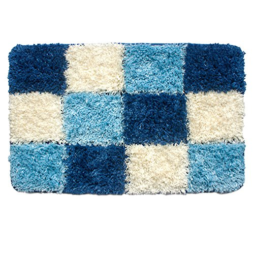 Uphome Geometric Checkered Microfiber Accent