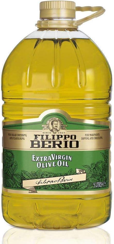 Filippo Berio Extra Virgin Olive Oil, 5L: Amazon.co.uk: Grocery