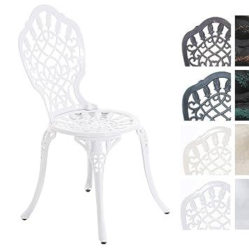 Verschiedenen LAXMI JugendstilAntiker CLP erhältlich Stuhl aus Gartenstuhl Weiß AluminiumIn Farben im vmNnwOP0y8