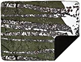 Denali Home Collection by Mont Double-Sided Reversible Throw, 50 by 60-Inch, Thyme Birch Trees/Chocolate