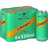 Schweppes Bitter Lemon - 330ml(Pack of 6)