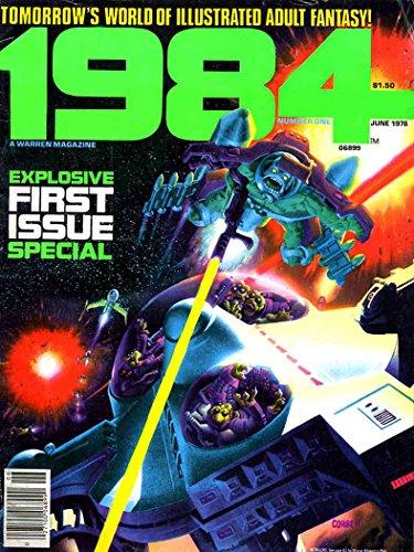 1984 Magazine #1 VG ; Warren comic book