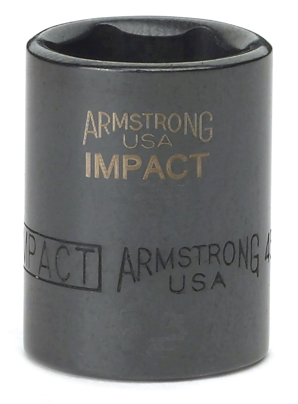 3//16-Inch Cooper Tools Armstrong 18-606 1//4-Inch Drive 6 Point Impact Socket