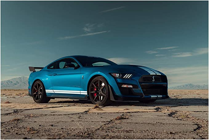 0334 Poster Print Art A0 A1 A2 A3 A4 Car Poster FORD SHELBY MUSTANG GT500