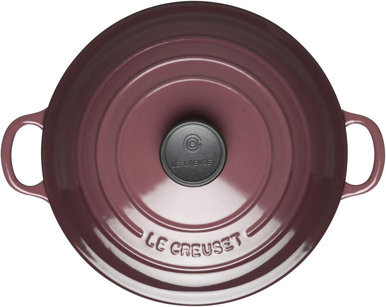 Hierro Fundido Todas Las Fuentes de Calor Incl Redonda 18 cm Beige Cream 1,8 l LE CREUSET Evolution Cocotte con Tapa inducci/ón