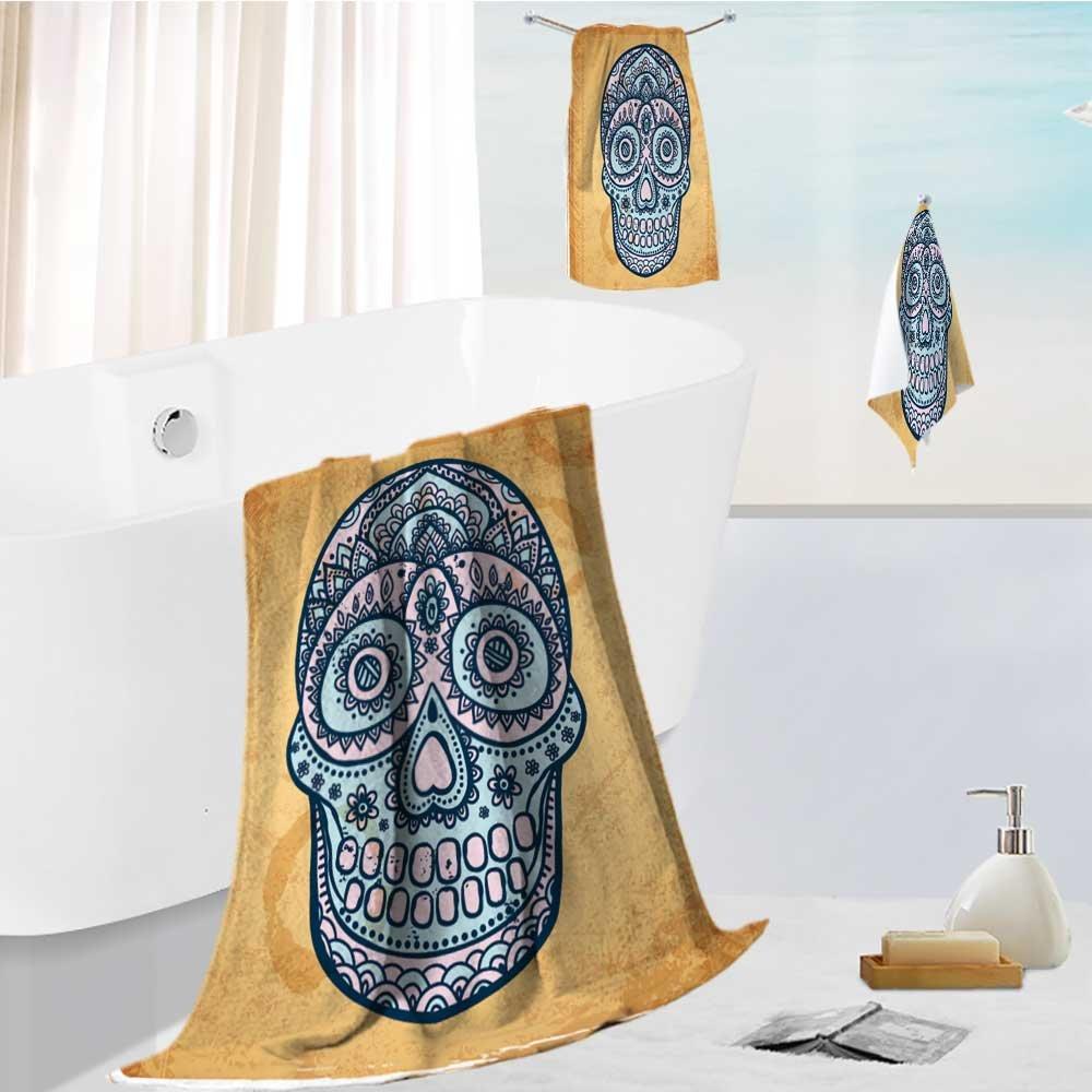 auraiseホームLarge Luxuryバスタオルセットシェルとヒトデon sandy beach spaプールホームジム使用13.8