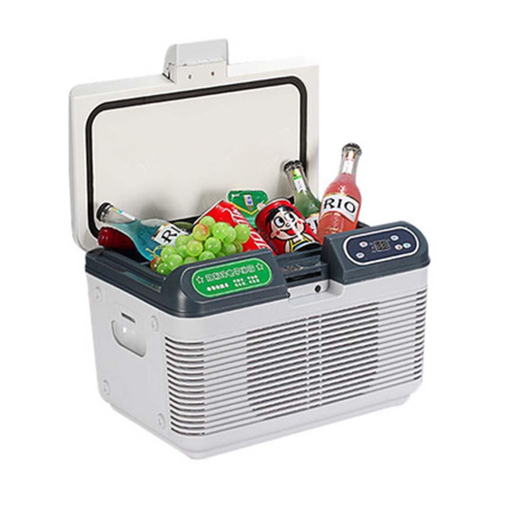 Amazon.es: Refrigerador del coche 12L, mini refrigerador del refrigerador de la exhibición de la exhibición digital del refrigerador del hogar del coche 12V ...