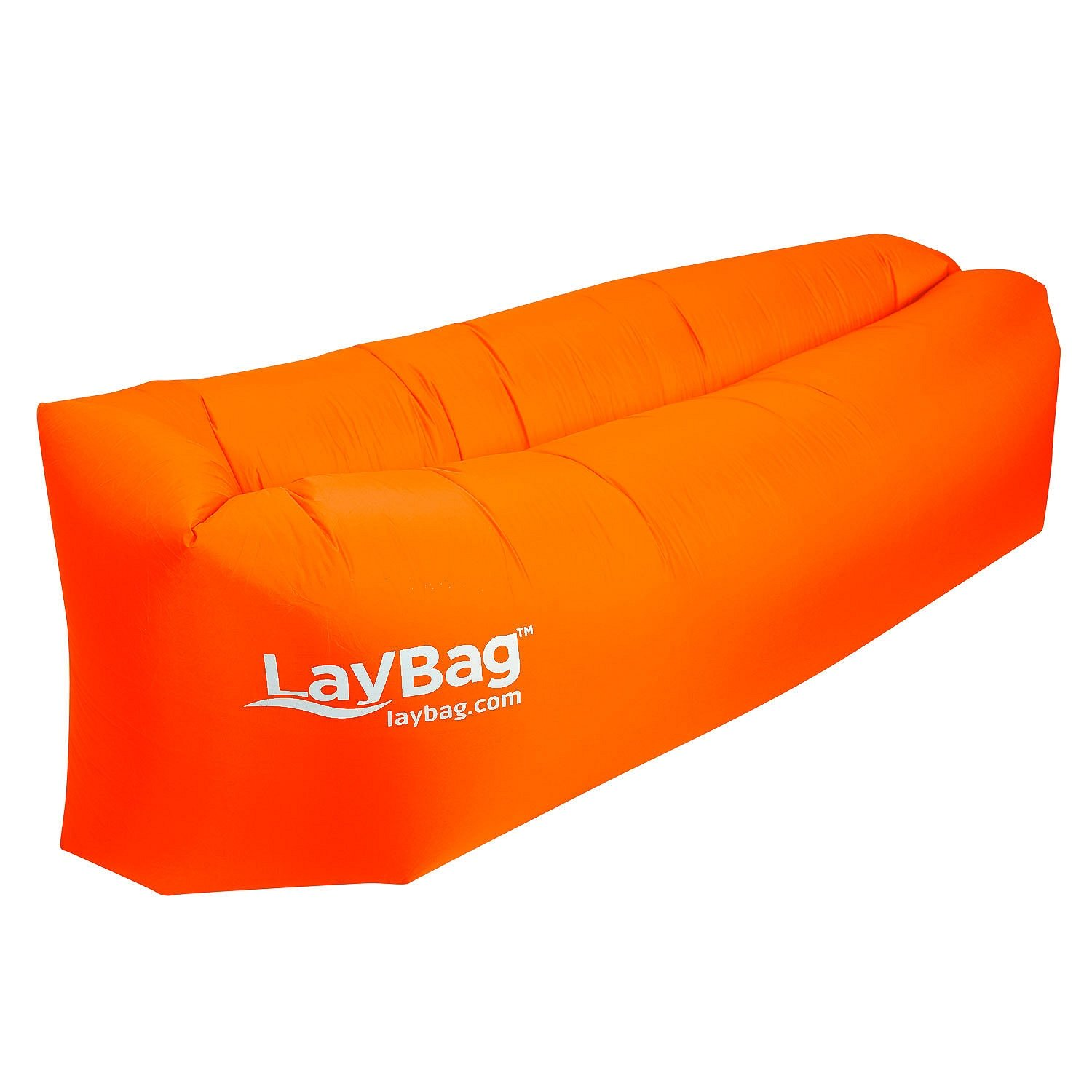 LayBag Inflatable Air Lounge, Clementine Orange