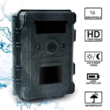 Jackeylove Wildlife Trail cámara, 16MP 1080P HD reconocimiento ...