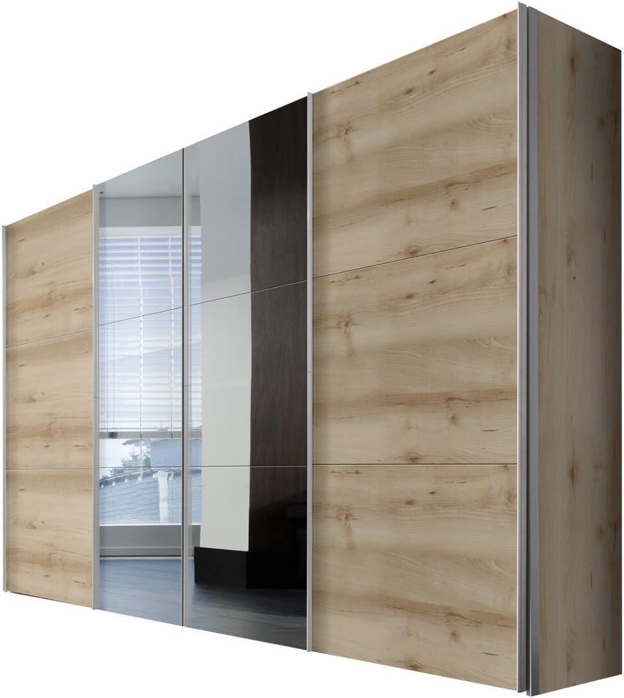 Solutions 44076 – 350 Armario con Puertas correderas, 4 Puerta ...